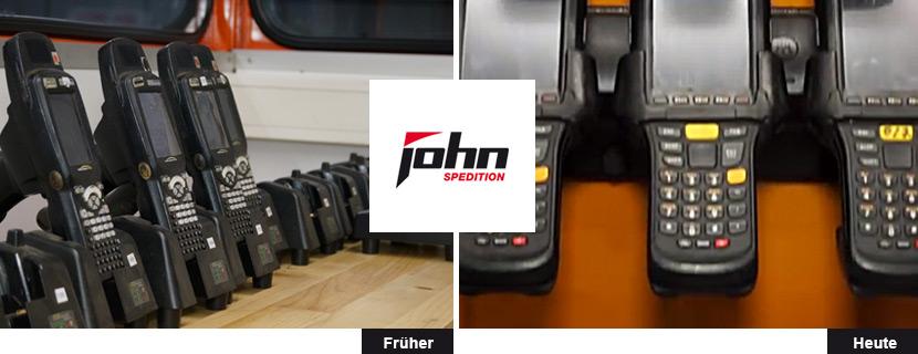 Neue Schranklösung bei der John Spedition