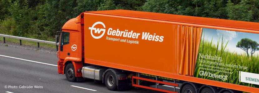 Gebrüder Weiss: Papierlose Auftragsbearbeitung mit PSV3