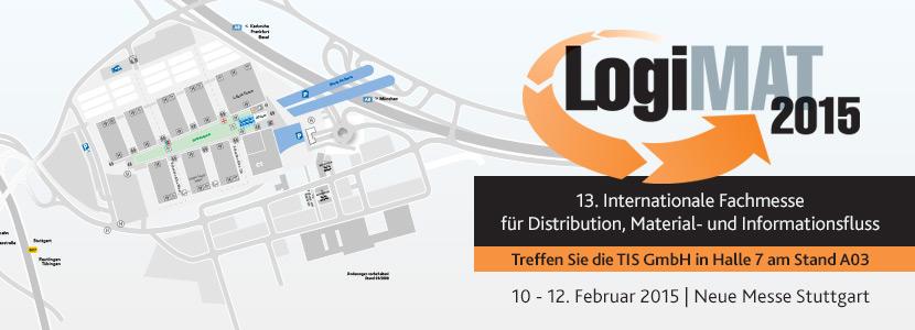 Die TIS GmbH auf der LogiMat 2015 in Stuttgart