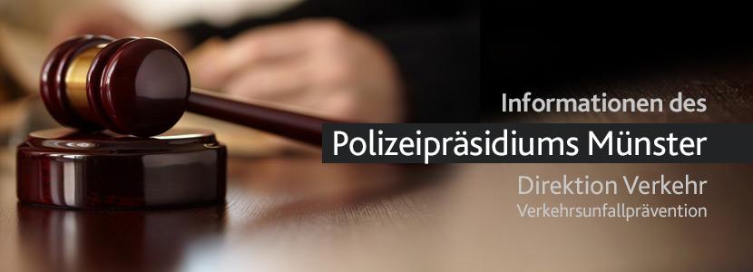 Neue Gerichtsurteile für den Straßenverkehr - das Polizeipräsidium informiert
