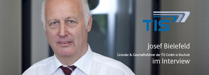 "Josef Bielefeld: ""Problemloser Generationswechsel mit TISLOG Logistics & Mobility"""
