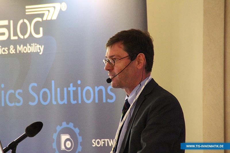 Gastredner Michael Schreckenberg auf der Telematik-Tagung InnoMATIK 2016