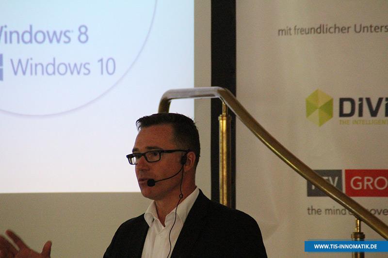 Gastredner Sven Scheller auf der Telematik-Tagung InnoMATIK 2016
