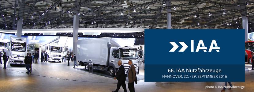 66. IAA Nutzfahrzeuge in Hannover
