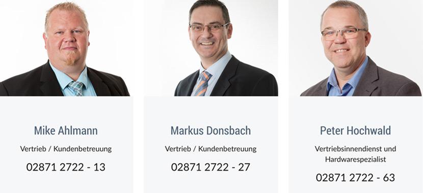 TIS GmbH Vertriebskollegen