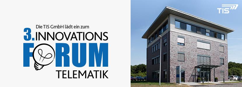 Innovationsforum des Telematikanbieters TIS GmbH