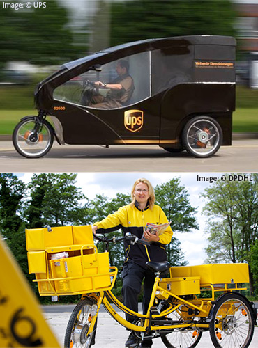 Delivery Bikes - a trend for the CEP industry?