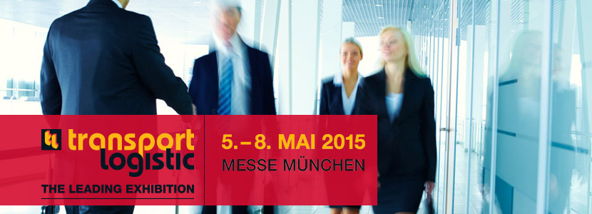 transport logistic Messe 2015 in München