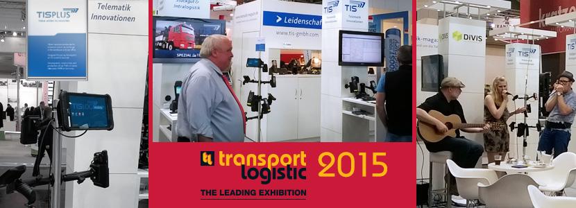 TIS auf der transport Logistic Messe 2015 in München