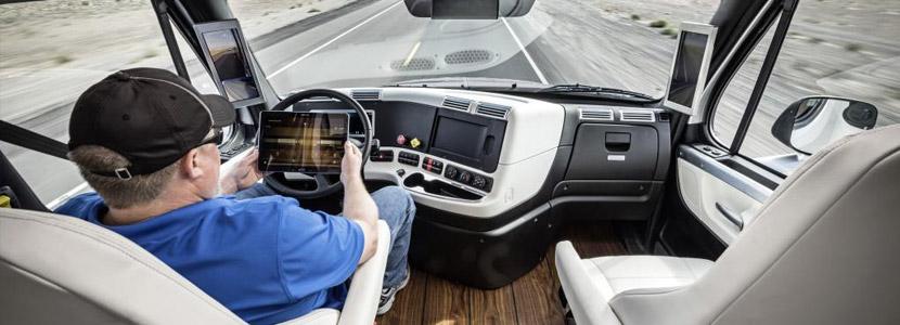 Autonomer Lkw nimmt Fahrt auf