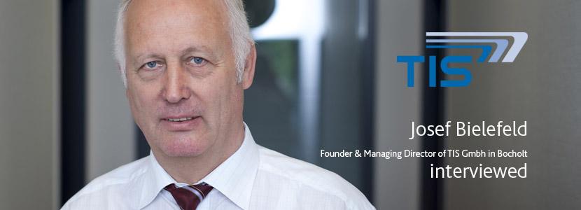 "Josef Bielefeld: ""Effortless generational change with TISLOG Logistics & Mobility"""