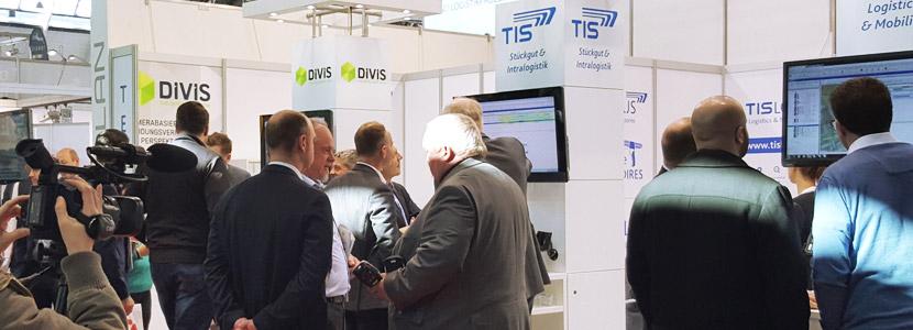 LogiMAT 2016: Internationale Intralogistik-Messe - Ein Erfolg für das Team der TIS GmbH