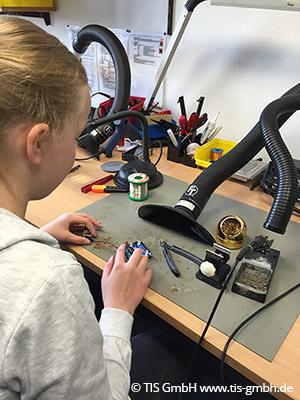 Schon zum vierten Mal nahm die TIS GmbH in Bocholt teil am Girls' Day