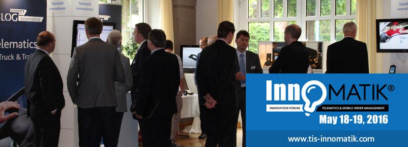 Telematics conference of TIS GmbH InnoMATIK 2016