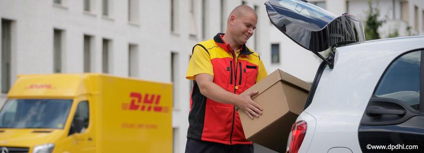 KEP Dienste: DHL liefert Pakete jetzt auch in den Smart-Kofferraum