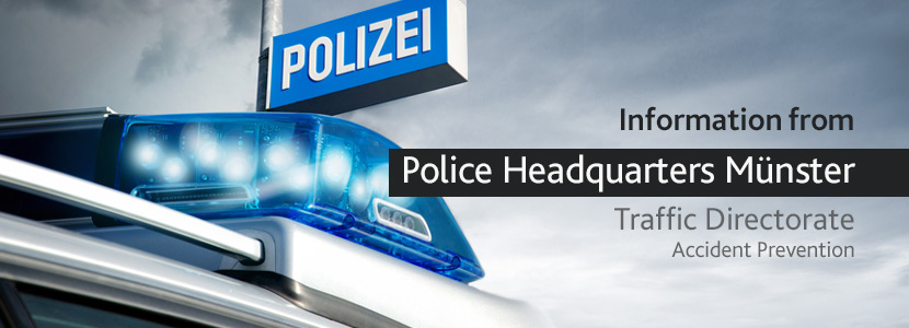 Police Headquarters Münster - Accident prevention