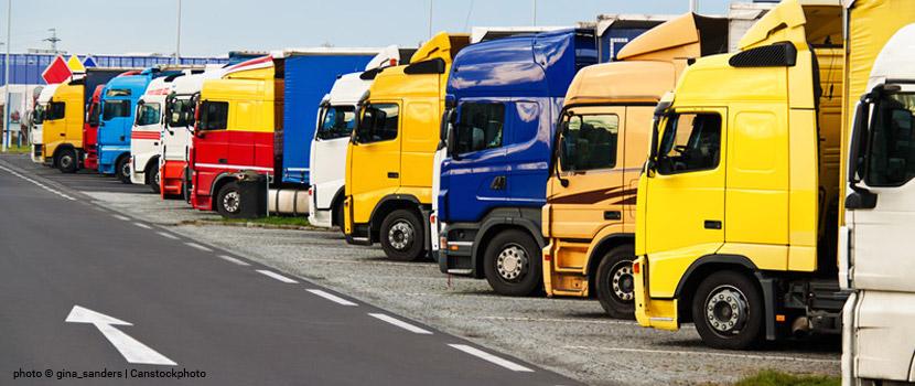 Parkplatznot für Trucks auf deutschen Straßen