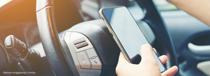 Use of cell phones and electronic devices: increased fines