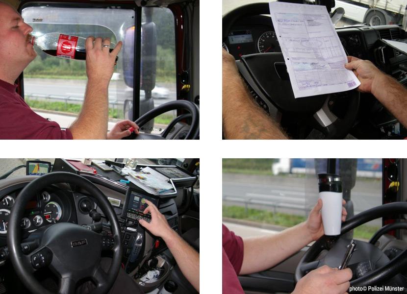 Verkehrssicherheit - Ablenkung am Steuer