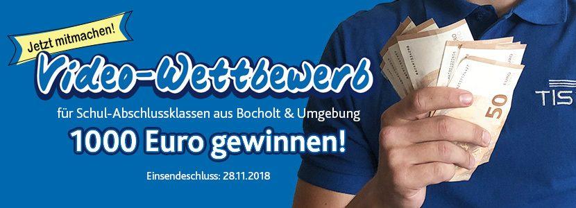 Video-Wettbewerb für Schulabschlussklassen in Bocholt und Umgebung