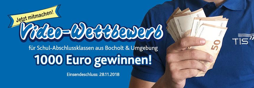 Videowettbewerb für Abschlussklassen aus Bocholt und Umgebung | TIS GmbH