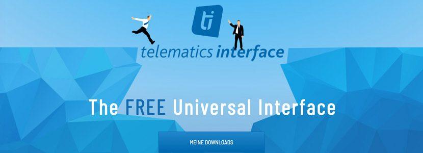 Kostenlose Telematikschnittstelle von der TIS GmbH