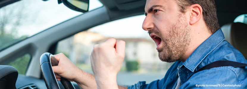 """Calm down"": Why aggression in traffic is so dangerous"