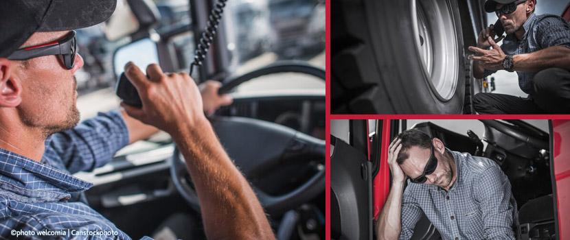 Tipps für Kraftfahrer: Gesund unterwegs